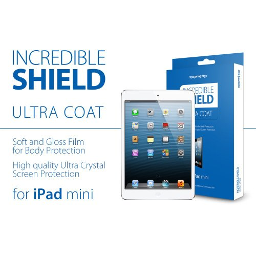 Spigen Incredible Shield ULTRA COAT iPad mini 1/2/3 Full Body Protector