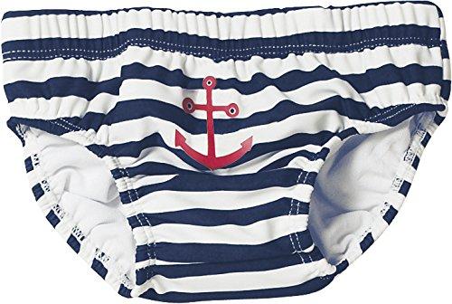 Playshoes Baby - Jungen Schwimmbekleidung, gestreift 460110 Badehose Maritim von Playshoes mit höchstem UV-Schutz nach Standard 801 und Oeko-Tex Standard 100, Gr. 86/92, Mehrfarbig (900 original)