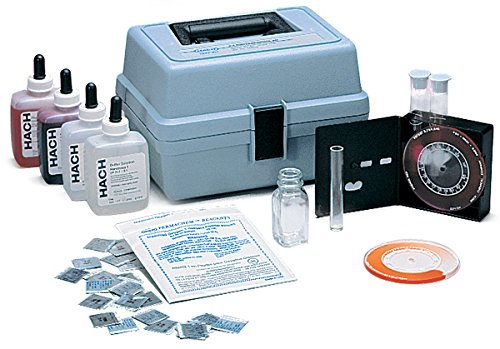 Hach 183701 Hardness, Iron, and pH Test Kit, Model HA-62A