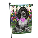 Doggie of the Day Spring Floral Cocker Spaniel Dog Garden Flag GFLG52199 Review