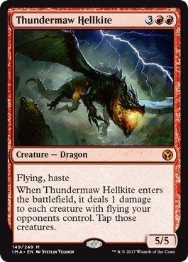 - Thundermaw Hellkite - Foil - Iconic Masters