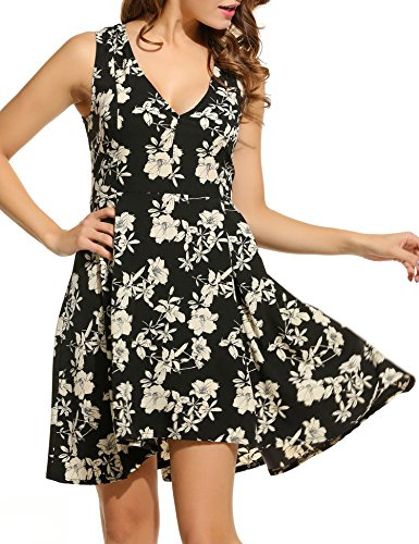 ACEVOG-Womens-1940s-Vintage-Sleeveless-Deep-V-neck-Floral-Printed-Swing-Dress