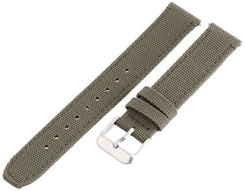Voguestrap TX54317OL Allstrap 17mm Nylon Green Watch - Watch Strap Fastwrap