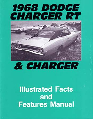 1968 Dodge Charger Facts Features Sales Brochure Literature Book Features Option