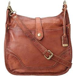 FRYE Campus Cross-Body Handbag,Saddle,One Size