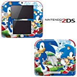 Sonic Generations The Hedgehog Decorative Video Game Decal Cover Skin Protector for Nintendo 2Ds