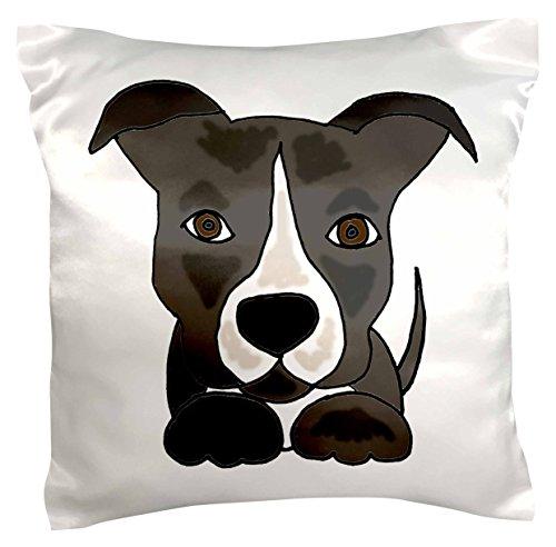 3dRose Funny Pitbull Puppy Cartoon