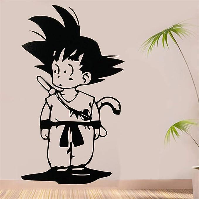 Dragon Ball Tatuajes de Pared Dragon Ball Anime Japonés Goku ...