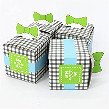 Wedding Candy Box-new Arrival My Little Man Favor Box Wedding Favor Box Party Favor Candy (Chocolate) Box(pack of 50)