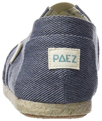 Paez 303 Essentials Uomo Espadrillas Original Sea Sea Blu H4UHaqv
