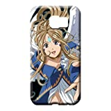 Hot Style Ultra Cell Phone Carrying Cases Special Ah My Goddess Samsung Galaxy S6 Edge Plus+