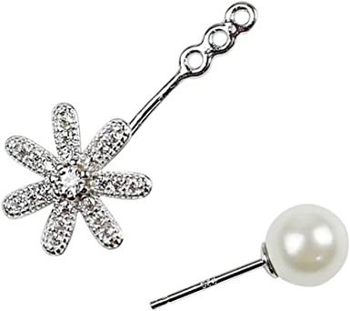 Sterling Silver Flowers with Pearl