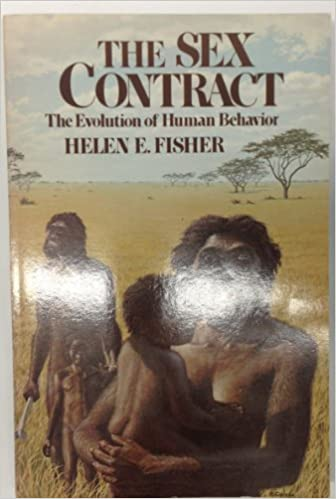 Behavior contract evolution human sex