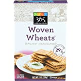 365 Everyday Value Woven Wheats Baked Crackers, 7 oz