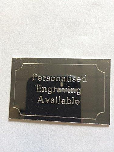 Plata grabado placa 50mm x 32mm grabado