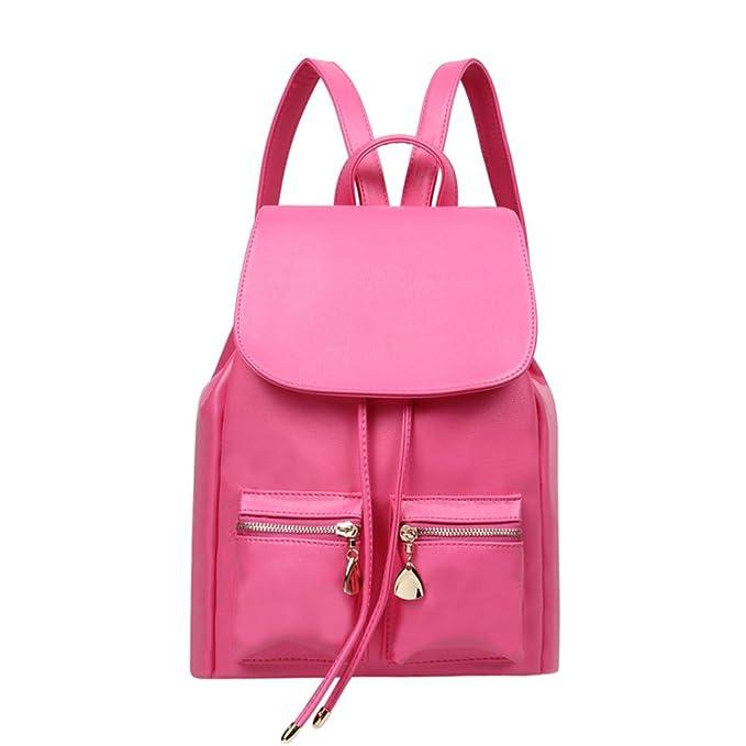subecan Cool Mini Casual mujer piel bolso mochilas Niñas Colegio bookbags: Amazon.es: Ropa y accesorios