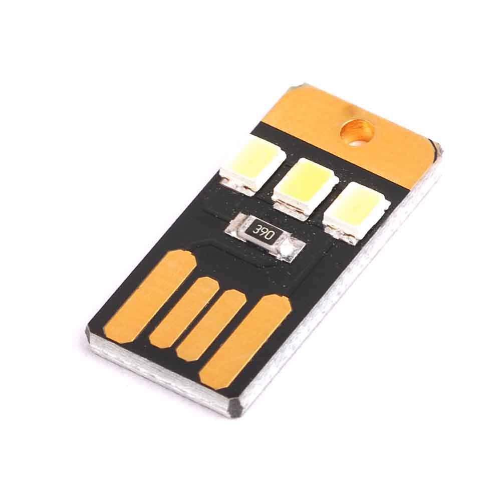 5PCS Mini Ultra Thin Mobile USB Lights Module LED Lights USB Camping Lights Baby Night Light