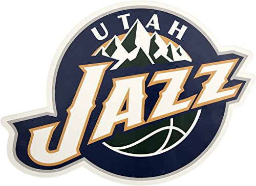 (Applied Icon, NBA Utah Jazz Outdoor Small Primary Logo Graphic)