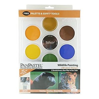 PanPastel PP30082 Ultra Soft Artist Pastel Set 9ml 7/Pkg, Wildlife