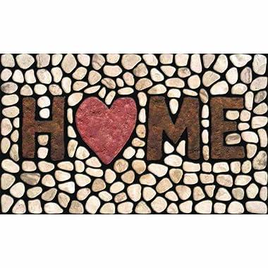 Apache Mills 60-779-1029 Masterpiece Home Stones Doormat, 18-Inch by 30-Inch