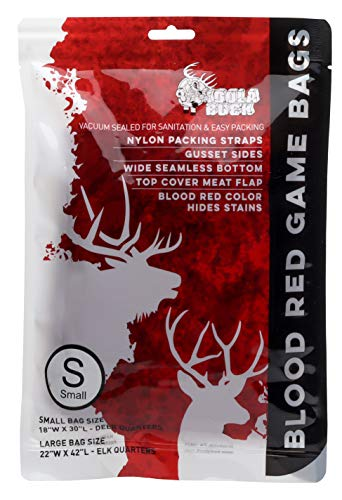 - Koola Buck Blood Red Heavy Duty Hunting Game Bags (Small)