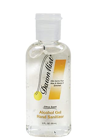 Amazon Com Dawnmist Hand Sanitizer 2 Oz Bottle Beauty