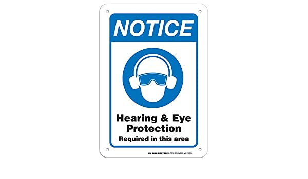 A81-363PL - Señal de advertencia para oídos y ojos ...