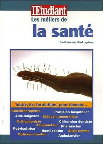 Livre gratuits Les métiers de la santé pdf ebook