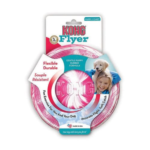 KONG Puppy Flyer Dog Toy, Colors May Vary, My Pet Supplies