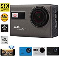 1080P HD Camera 2.0 inch 4K Ultra WIFI 5x Digital Zoom 12MP Night Vision Function Action Cam 4 Color