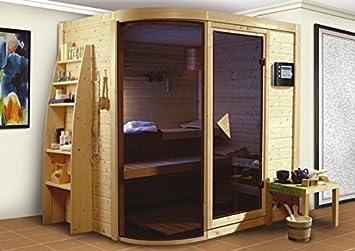 1 - Karibu sauna vs, Rondira 9-kw-Horno - Con Ventana-: Amazon.es: Bricolaje y herramientas