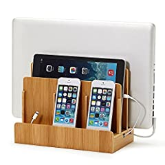 Eco Bamboo Multi-Device Charging