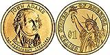 2007-D John Adams, 25-coin Roll of Presidential Dollars