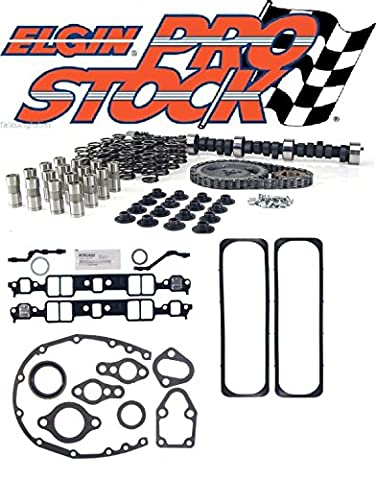 Chevy GMC Truck 305 350 Torque RV Ultimate Cam Kit TBI springs lifters gaskets+ (std) (Sbc 350 Cam)