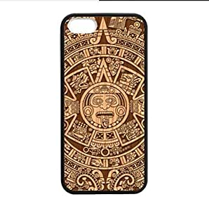 Best Custom Case - Popular Mayan Calendar Design Mayan Calendar Apple iphone 5 or 5s TPU (Laser Technology) Case, Cell Phone Cover