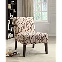HomeRoots Furniture 285690-OT Chairs, Multicolor