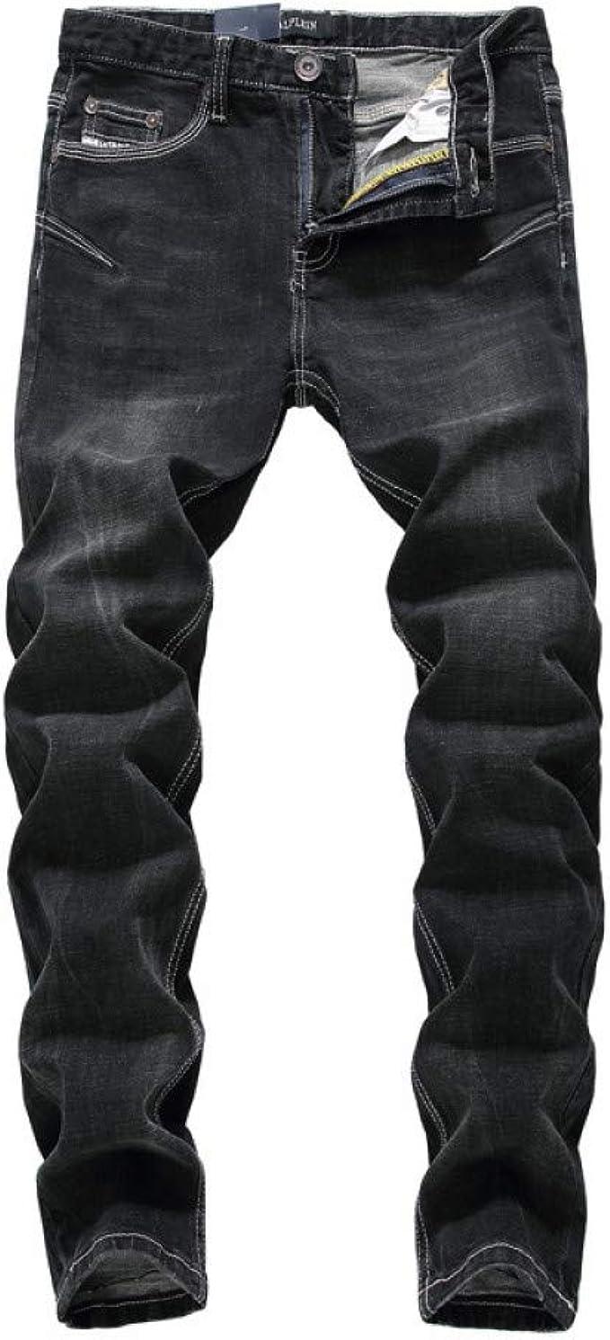 Dyczfz Ropa De Calle De Moda Jeans Ajustados Elasticos Para Hombres Jeans Hip Hop Jeans Elasticos Negros Para Hombres Pantalones Para Hombres Amazon Es Ropa Y Accesorios