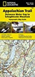 Appalachian Trail, Delaware Water Gap to Schaghticoke Mountain [New Jersey, New York] (National Geographic Trails Illustrated Map)
