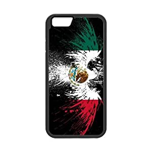 Mexico Flag iPhone 6 4.7 Inch Cell Phone Case Black D4626340