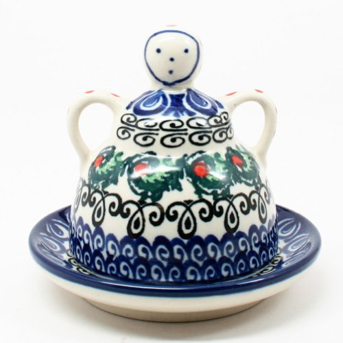 Polish Pottery Mini Cheese Lady #1624