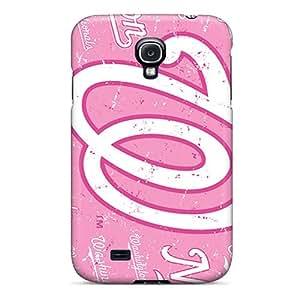 Galaxy S4 NEX513XeYF Washington Nationals Tpu Silicone Gel Case Cover. Fits Galaxy S4