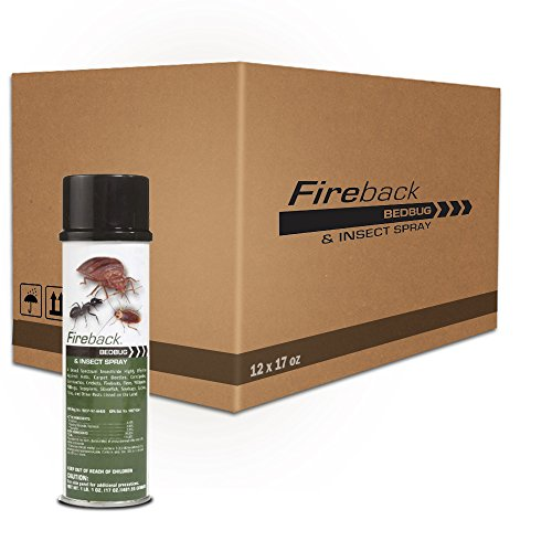- Fireback Bedbug and Insect Spray 1 Case (12) * 17 Oz Cans