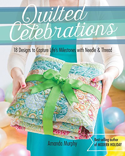 Bar Mitzvah Blessing - Quilted Celebrations: 18 Designs to Capture Life's Milestones with Needle & Thread