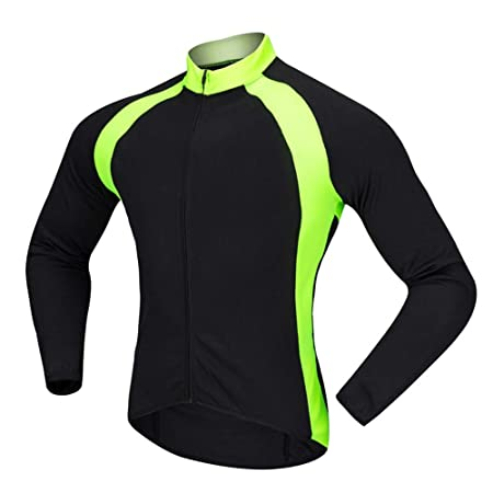 Zoueroih Traje de Ciclismo para Hombre Camisa de Ciclismo ...