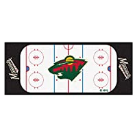 FANMATS 10400 NHL Minnesota Wild Nylon Face Football Field Runner