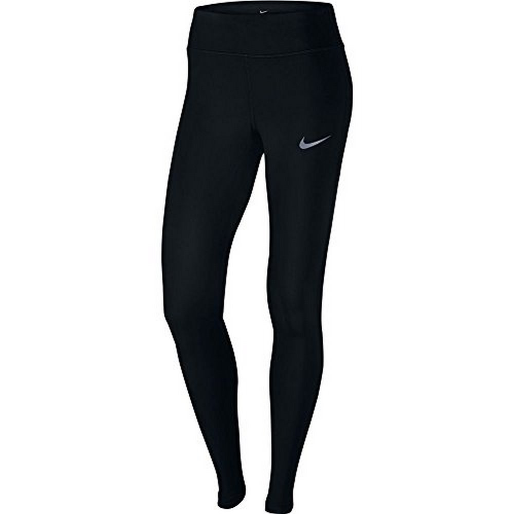 Nike Womens PWR EPIC LX TGHT MESH, BLACK, XL-S by NIKE