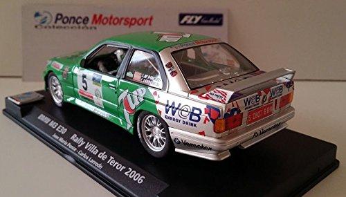 Slot SCX Scalextric Fly 96101 E-1702 BMW M3 E30 Rally Villa de Teror 2006: Amazon.es: Juguetes y juegos