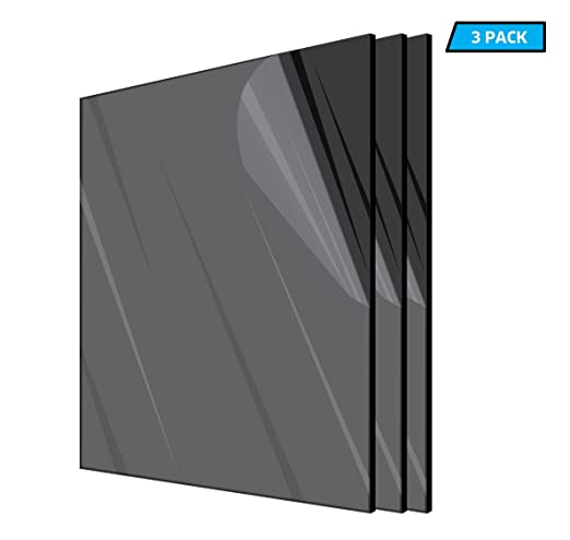 DIY Acrylic Sheet Adiroffice Clear Plexiglass 1//8 in.Thick  x 24 in x 36 in