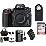 Nikon D750 FX-format Digital SLR Camera (Body Only) with 64 GB Deluxe