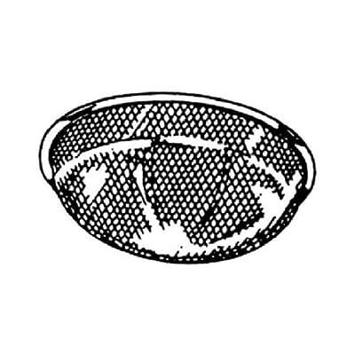 Broan-Nutone BP4 Range Hood Filter, Round Aluminum, 10-1/2-In.